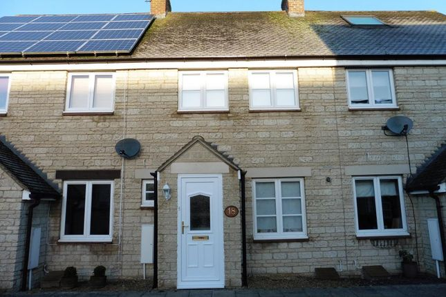Thumbnail Terraced house to rent in Hazel Close, Witney, Oxon