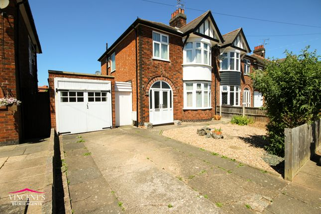 Thumbnail Semi-detached house for sale in Alvaston Road, Leicester