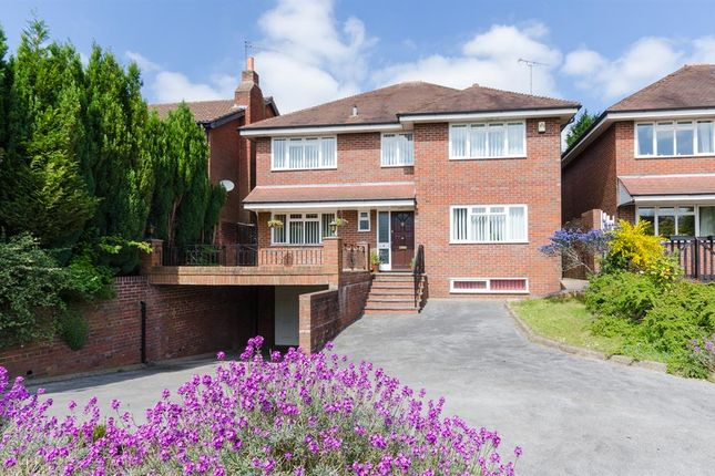 Thumbnail Detached house for sale in Knightlow Road, Harborne, Birmingham