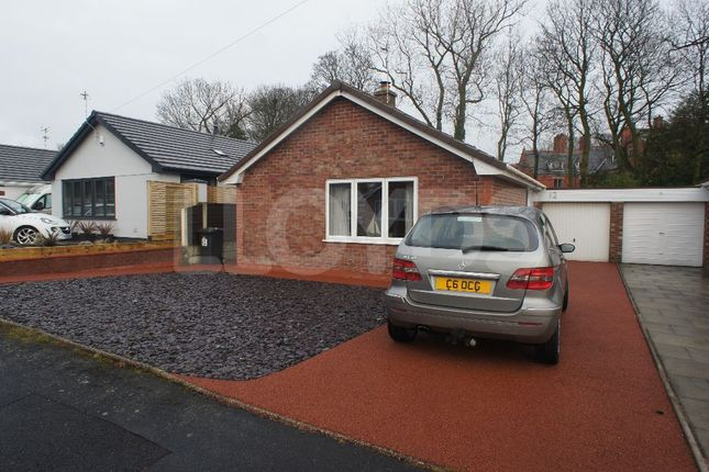 Thumbnail Detached bungalow to rent in Rectory Close, Winwick, Warrington