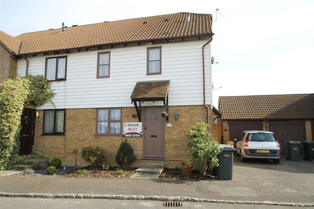 Thumbnail End terrace house to rent in Coombe Close, Snodland, Kent