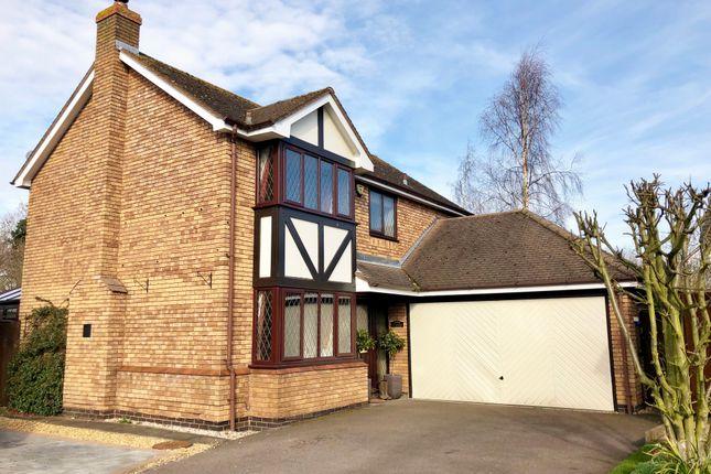 Thumbnail Detached house for sale in Blakeways Close, Edingale, Tamworth