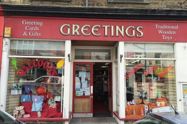 Retail premises for sale in Market Street, Carnforth