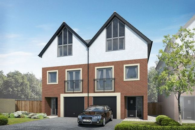 Thumbnail Semi-detached house for sale in Plot 5, Nautilus, Southampton Road, Portsmouth