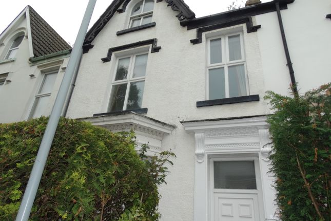 Thumbnail Terraced house to rent in St. Helens Avenue, Swansea