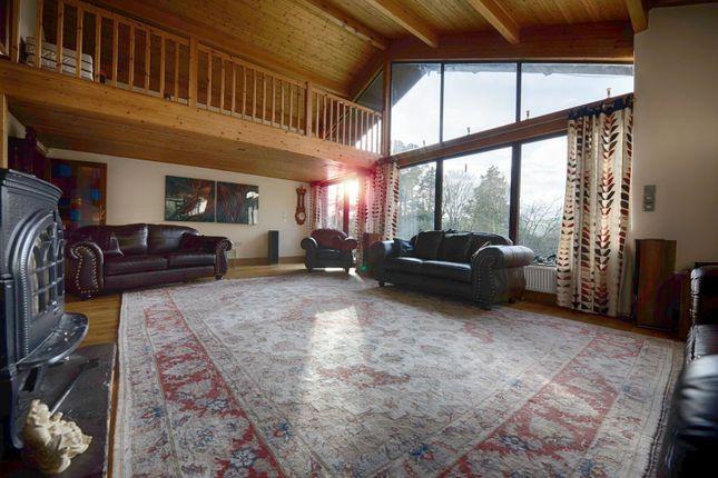 Thumbnail Detached house for sale in Tyn Y Coed Llangenny, Crickhowell