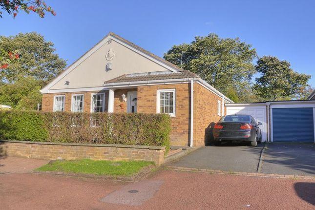 Thumbnail Detached bungalow for sale in Forum Court, Bedlington