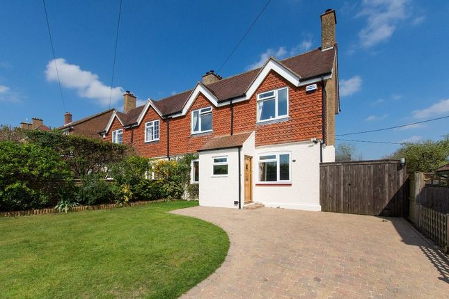 Thumbnail Semi-detached house for sale in Forstal Road, Woolage Village, Canterbury