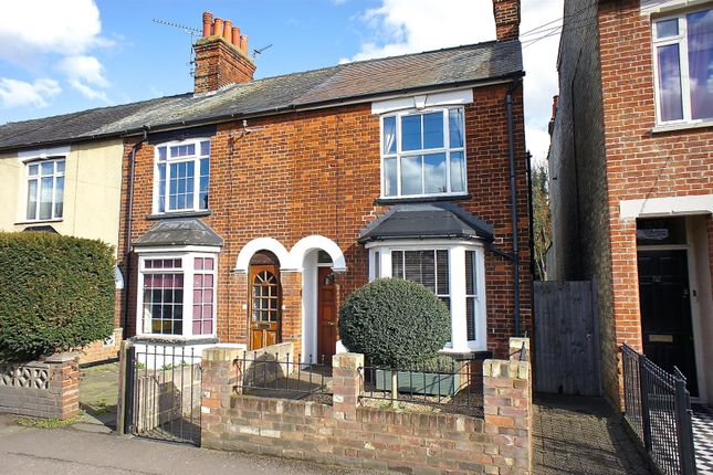 Thumbnail End terrace house for sale in Grove Road, Hitchin