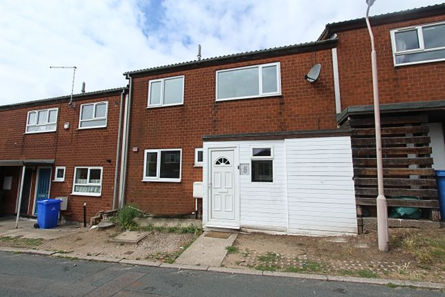 Thumbnail Terraced house to rent in Linton Close, Mansfield, Nottinghamshire