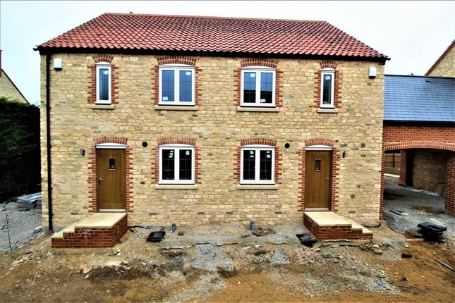 Thumbnail Semi-detached house for sale in The Yardley, 3 Manor House Gardens, Cogenhoe