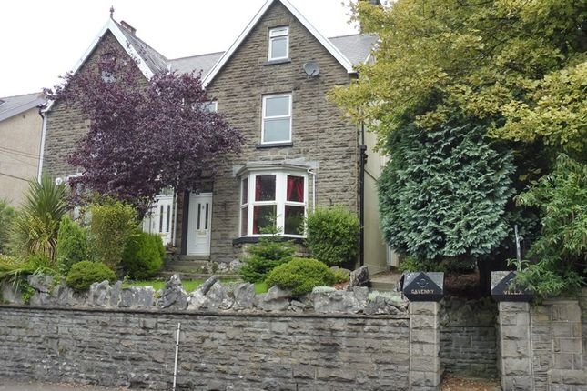 Thumbnail Semi-detached house for sale in High Street, Penydarren Road, Merthyr Tydfil