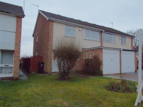Thumbnail Semi-detached house for sale in Whitley Close, Leicester, Leicestershire
