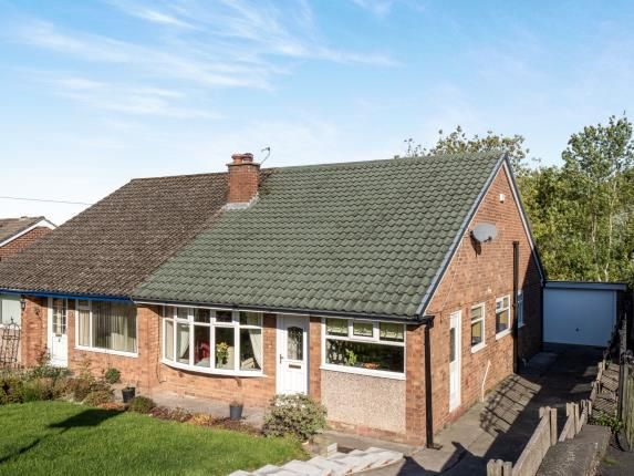 Thumbnail Bungalow for sale in Highcroft, Gee Cross, Hyde, Greater Manchester
