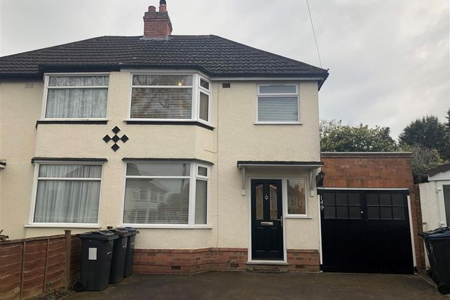 Thumbnail Semi-detached house to rent in Sandgate Road, Hall Green, Birmingham