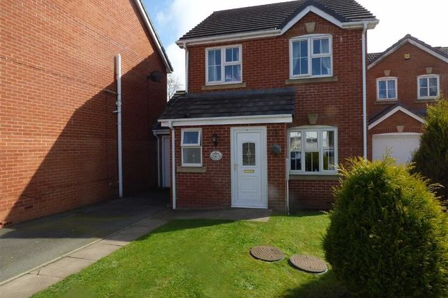 Thumbnail Detached house for sale in Park View Close, Blurton, Stoke-On-Trent