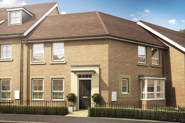 "Thumbnail Semi-detached house for sale in ""Faringdon"" at Knights Way, St. Ives, Huntingdon"