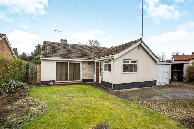 Thumbnail Bungalow for sale in East Harling, Norwich, Norfolk
