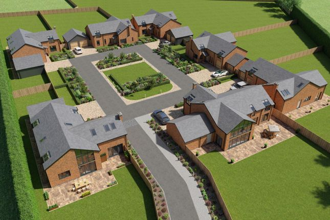 Aerial View of Plot 1 - Course Lane, Wigan WN8