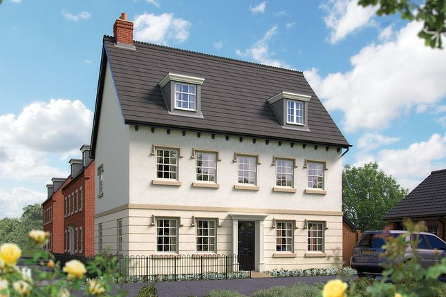 "Thumbnail Detached house for sale in ""The Charlecote"" at Harbury Lane, Heathcote, Warwick"