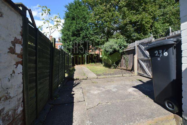Garden of Avenue Road Extension, Leicester LE2