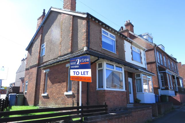 Thumbnail Semi-detached house to rent in Baums Lane, Mansfield