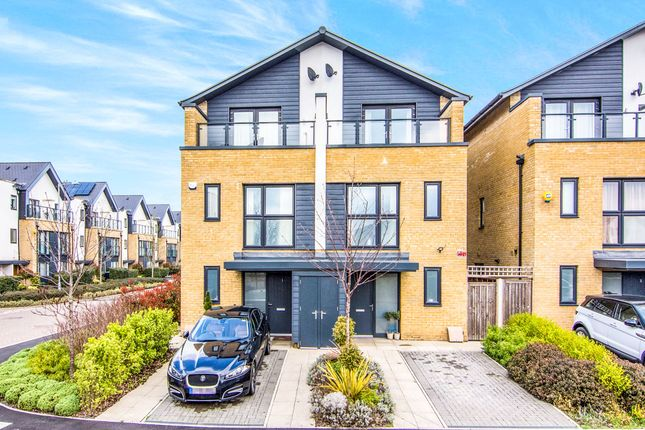 Thumbnail Semi-detached house for sale in Huntingdon Drive, Romford