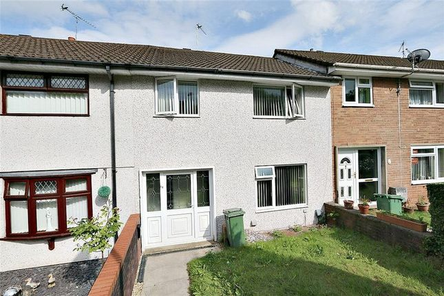 Thumbnail Terraced house to rent in Churchwood Road, Pontnewydd, Cwmbran