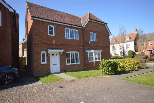 Thumbnail Semi-detached house to rent in Violet Way, Ashford, Kent