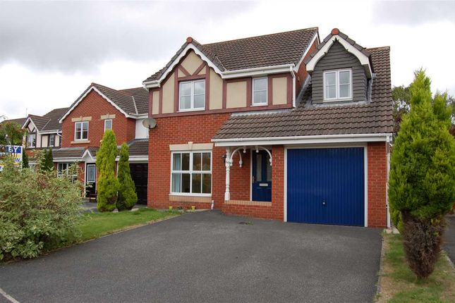 Thumbnail Detached house to rent in Mile Stone Meadow, Euxton, Chorley