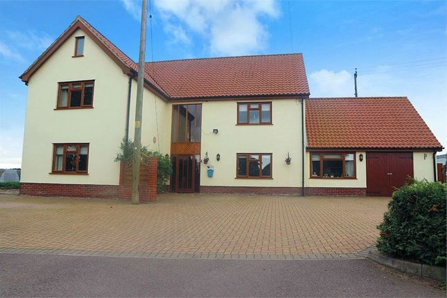 Thumbnail Detached house for sale in Poplar Road, Attleborough, Norfolk