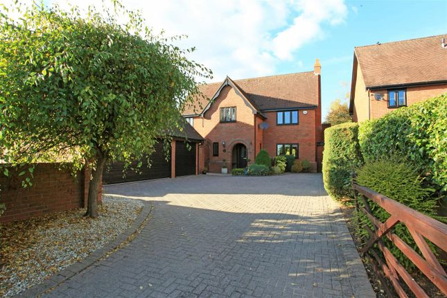 Thumbnail Detached house for sale in Rectory Drive, Weston-Under-Lizard, Shifnal