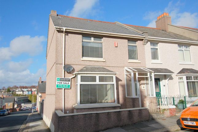 Thumbnail End terrace house for sale in Beaumont Street, Plymouth