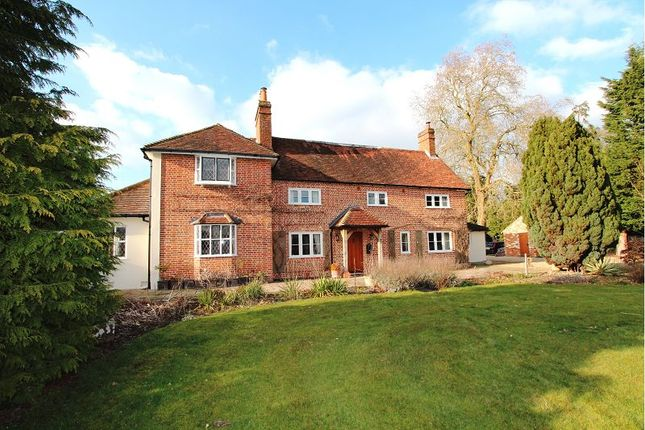 Thumbnail Detached house to rent in Reading Road, Heckfield, Hook