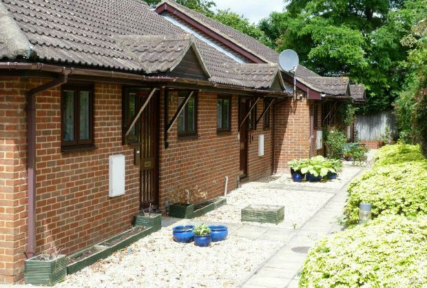 2 bed terraced bungalow for sale in Ashlawn Gardens, Winchester Road, Andover