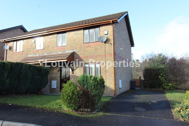 Thumbnail Property to rent in Willow Close, Ebbw Vale, Blaenau Gwent.