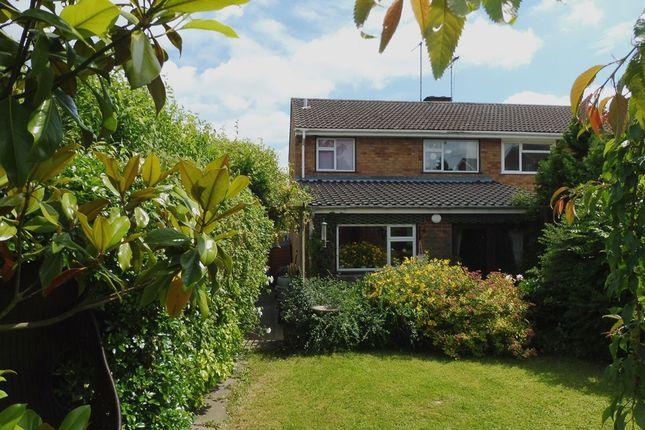 Thumbnail Semi-detached house for sale in Pine Grove, Woburn Sands, Milton Keynes