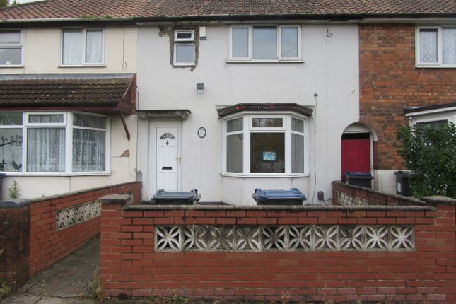 Thumbnail Terraced house to rent in Homelea Road, Yardley