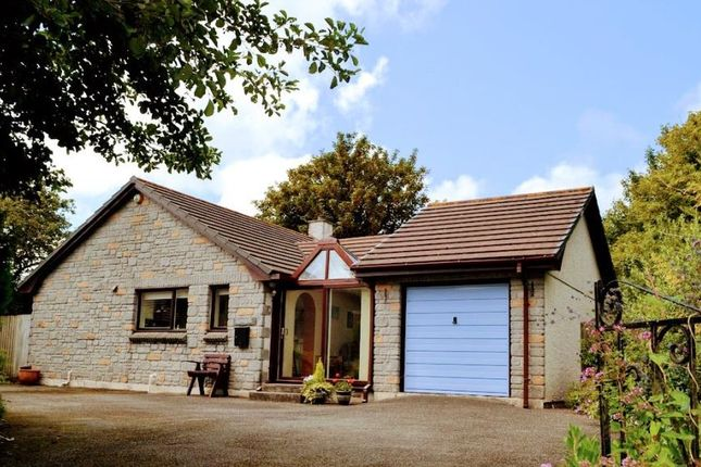 Thumbnail Detached bungalow for sale in The Saltings, Lelant, Cornwall