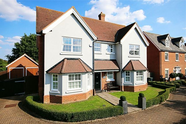 Thumbnail Detached house for sale in Matching Road, Hatfield Heath, Bishop's Stortford, Herts