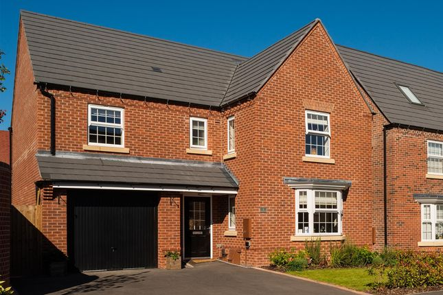 """Thumbnail Detached house for sale in """"Exeter"""" at Tamora Close, Heathcote, Warwick"""