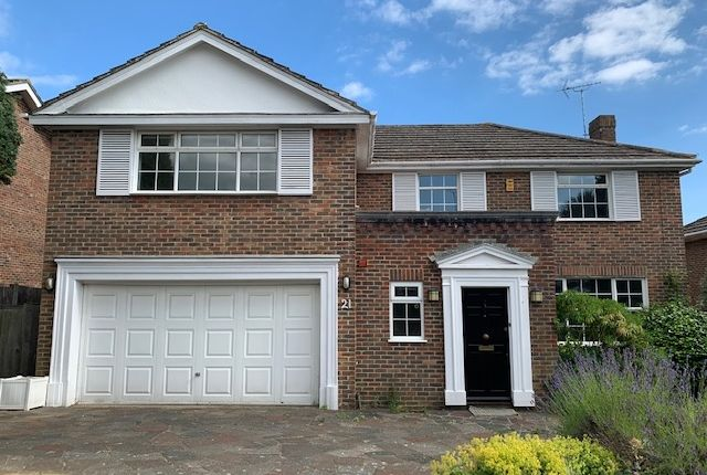 Thumbnail Detached house to rent in Chalfont Drive, Hove