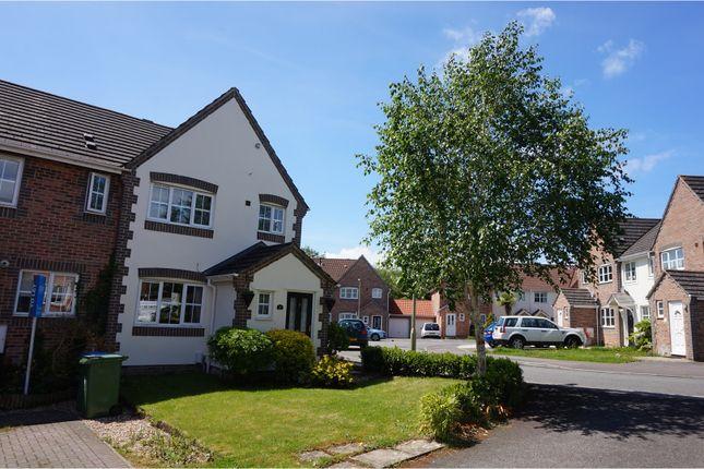 Thumbnail End terrace house for sale in John Bunyan Close, Whiteley