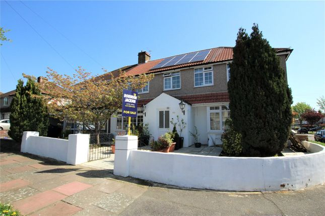 Thumbnail Semi-detached house for sale in Raeburn Road, Sidcup, Kent