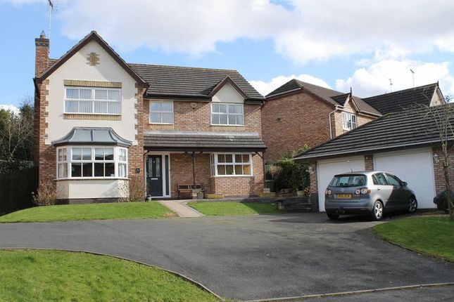 Thumbnail Detached house for sale in Chestnut Grove, Penkridge, Stafford