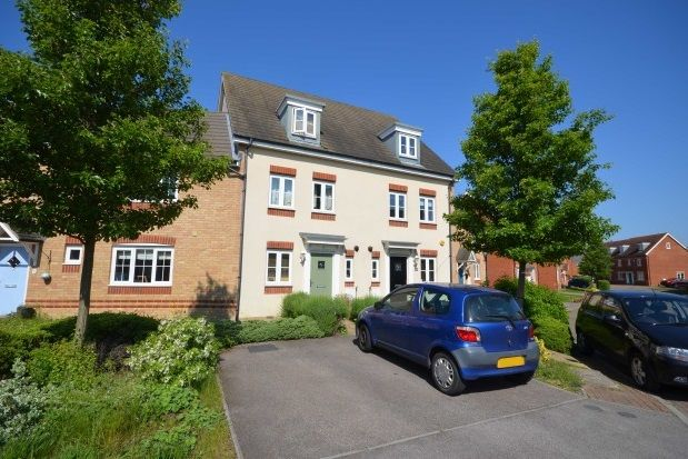 Thumbnail Town house to rent in Teal Avenue, Soham, Ely