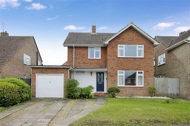 Thumbnail Detached house to rent in Hazel End, Swindon, Wiltshire