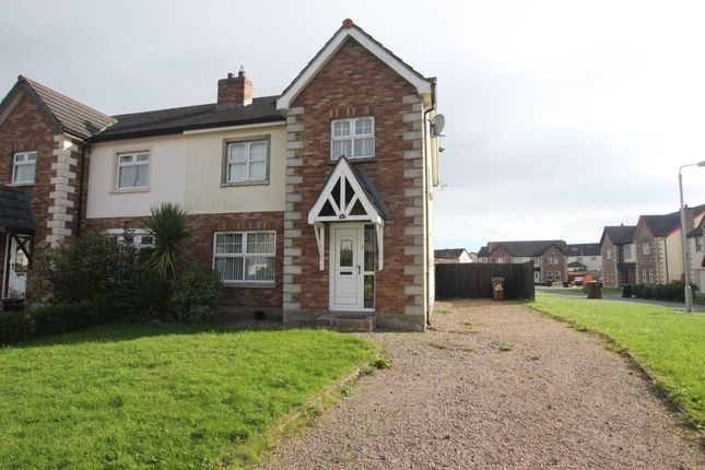 Thumbnail Semi-detached house for sale in Lower Rogan Manor, Newtownabbey