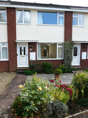 Thumbnail Terraced house to rent in Salway Close, Cullompton