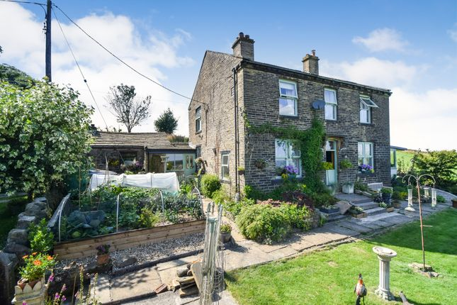 Thumbnail Detached house for sale in Upper Shay Farm Allerton Road, Bradford